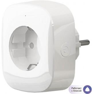Умная розетка Hiper IoT P03 EU VDE Wi-Fi белый