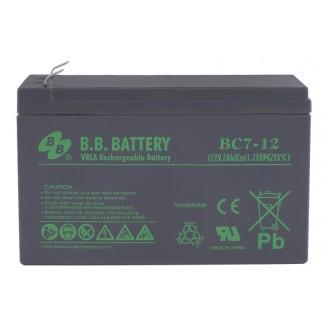 Аккумуляторная батарея B.B. BATTERY BC7-12