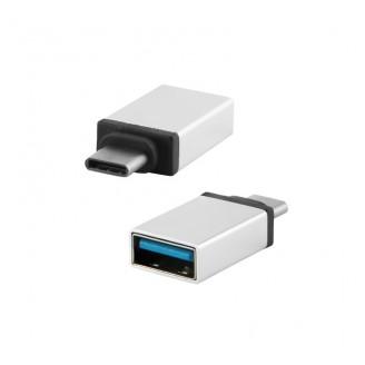 Переходник Redline USB Type-C (m) - USB 3.0 A (f)