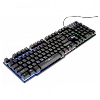 Клавиатура игровая Ritmix RKB-200BL