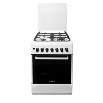 Комбинированная плита il Monte FO-GE6003 White