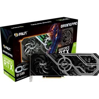 Видеокарта PALIT NVIDIA GeForce RTX 3070 , GAMINGPRO 8G, GDDR6, OC, Ret