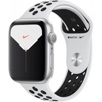 Apple Watch Nike+ Series 5, 44 мм, серебристый алюминий, спортивный ремешок Nike