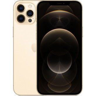 Смартфон Apple iPhone 12 Pro Max 256Gb Gold (MGDE3RU/A)