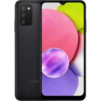 Смартфон Samsung Galaxy A03s 64Gb Чёрный (SM-A037F)