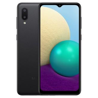 Смартфон Samsung Galaxy A02 32Gb Чёрный (SM-A022F)