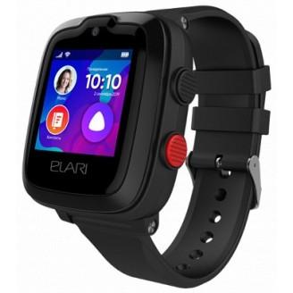 Детские умные часы Elari KidPhone 4G (KP-4G), Чёрные