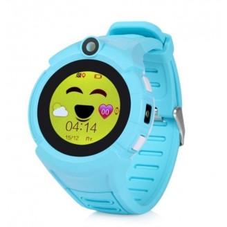 Умные часы Smart Baby Watch SBW I8, Голубые