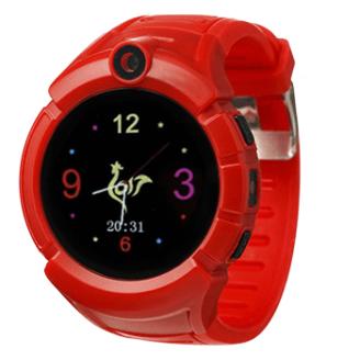 Умные часы Smart Baby Watch SBW I8, Красные
