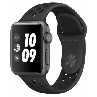 Apple Watch Nike+ Series 3, 38 мм, алюминий