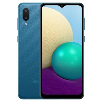 Смартфон Samsung Galaxy A02 32Gb Синий (SM-A022F)