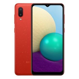 Смартфон Samsung Galaxy A02 32Gb Красный (SM-A022F)
