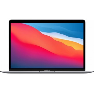 Apple MacBook Air 2020 256Gb Space Gray (Z1240004P) (M1, 16 ГБ, 256 ГБ SSD)