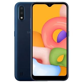 Смартфон Samsung Galaxy A01 16Gb Синий (SM-A015F)