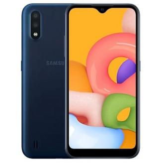 Смартфон Samsung Galaxy M01 32Gb Синий (SM-M015F)