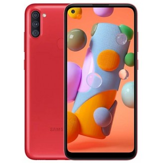 Смартфон Samsung Galaxy A11 32Gb Красный (SM-A115F)