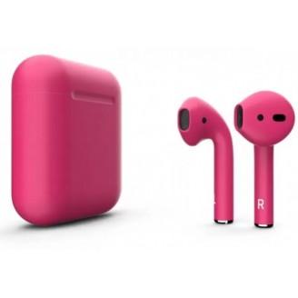 Беспроводные наушники Apple AirPods 2 Color (Matte Pink)