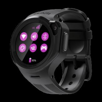Умные часы Elari KidPhone 4GR (KP-4GR), Чёрные