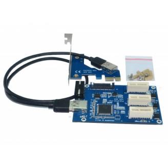 Расширитель портов PCI-E 1 на 3